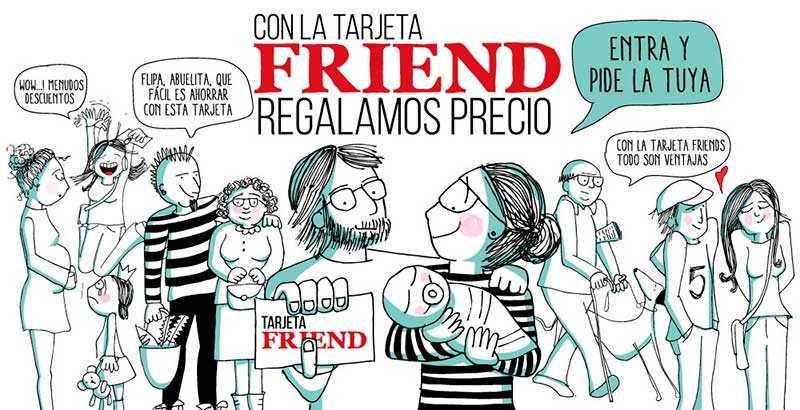 Tarjeta-Friends