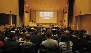 Master Class en auditorio Campus Gandia upv